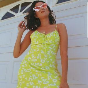 Dresses & Skirts - 🆕️//The Ziggy// Neon green dress